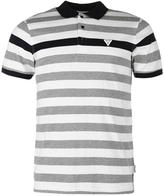 Soviet Contrast Stripe Polo Shirt