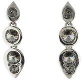 Oscar de la Renta Modern Crystal Earrings
