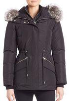 Mackage Fox Fur-Trim Down Jacket