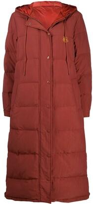 Kenzo Tiger-motif padded coat