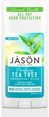 Jason Purifying Tea Tree Pure Natural Deodorant Stick 71g