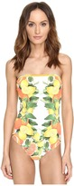 Stella McCartney Iconic Prints Strapless One-Piece Women's Swimsuits One Piece