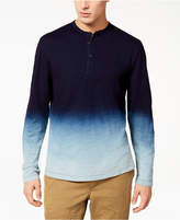 American Rag Men's Dip Dye Henley, Created for Macy's