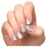 Incoco Shimmer Design Nail Polish Applique Blush Bouquet 16ct