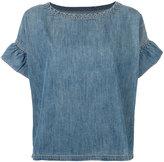 Current/Elliott Alexis ruffle shirt