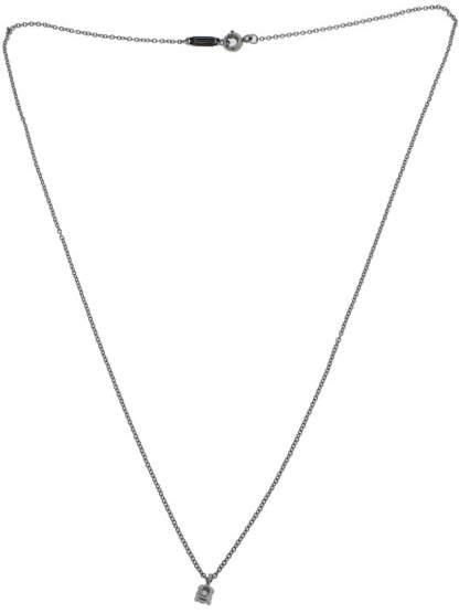 Tiffany & Co. Platinum 12ct Diamond Pendant Necklace
