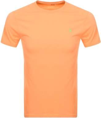 Ralph Lauren Crew Neck T Shirt Orange