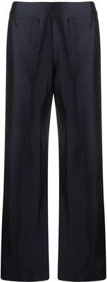Soulland Asta satin trousers