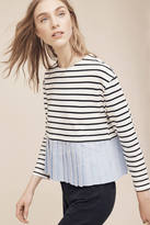 Deletta Wylie Striped Top