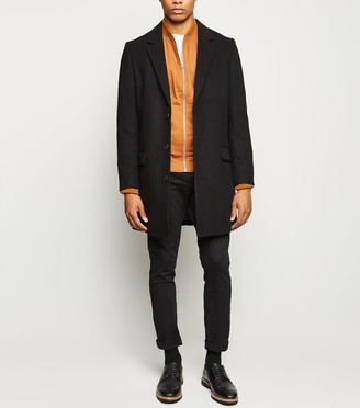 New Look Double Pocket Overcoat
