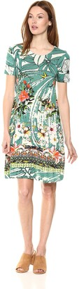 Desigual Women's Eleonor Short Sleeve Dress