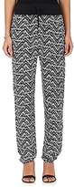 A.L.C. Women's Kyrie Ikat-Inspired Silk Slouchy Pants