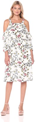 Blu Pepper Women's Floral Dress