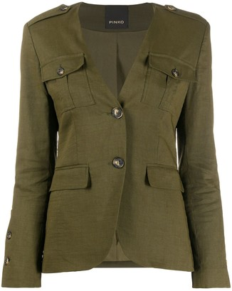 Pinko Military-Style Blazer