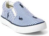 Ralph Lauren Bal Harbour Striped Sneaker