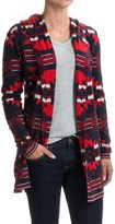 Woolrich Dew Berry Cardigan Sweater - Hooded (For Women)