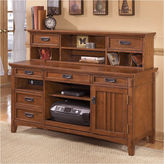 Signature Design by Ashley Cross Island Desk Hutch