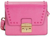 Mario Valentino Valentino By Frizette Studded Leather Shoulder Bag