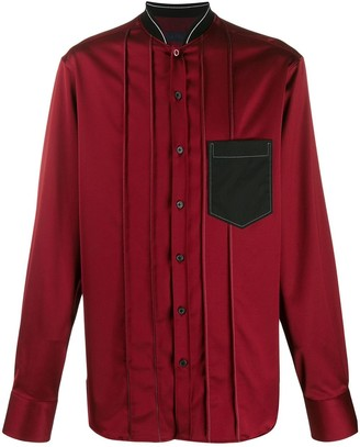 Lanvin Bomber-Style Collar Shirt