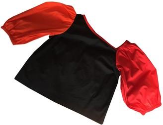 Isa Arfen Black Cotton Top for Women