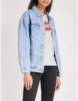 Levi's Oversized denim trucker jacket