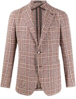 Tagliatore fitted single-breasted blazer