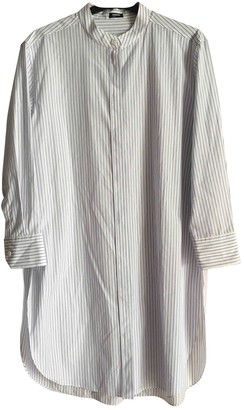Jil Sander White Cotton Dresses
