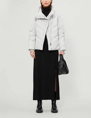 Ted Baker Funnel-neck quilted shell jacket