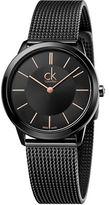 Calvin Klein Stainless Steel Mesh Band Watch