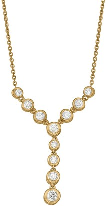 Sirena Collection 14K Gold 1/2 Carat T.W. Diamond Necklace
