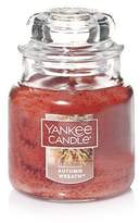 Yankee Candle Autumn Wreath Small Jar Candle, Food & Spice Scent