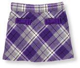 Janie and Jack Bow Pocket Plaid Skirt