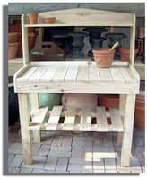 BarHarborCedar Potting Bench