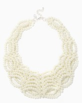 Charming charlie Draped Faux Pearl Necklace