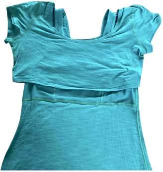 Lululemon Green Cotton Tops