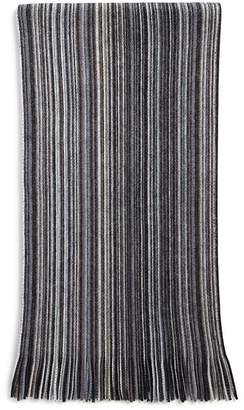 Bloomingdale's The Men's Store at Multi-Color-Stripe Wool Scarf - 100% Exclusive