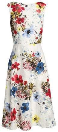 Erdem Floral-print Broderie Anglaise Cotton Dress