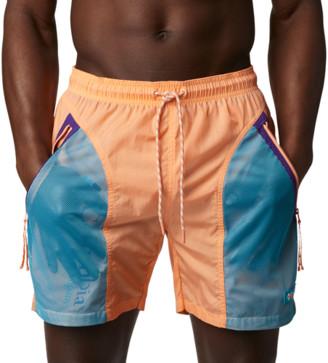 Columbia Riptide Shorts - Peach / Green