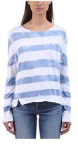 Rag & Bone Women's Washed Stripe Long-Sleeve Tee