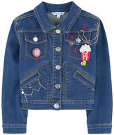 Little Marc Jacobs Jean jacket with fancy patches
