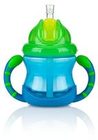 Nuby Flip N' Sip Cup - aqua/green, one