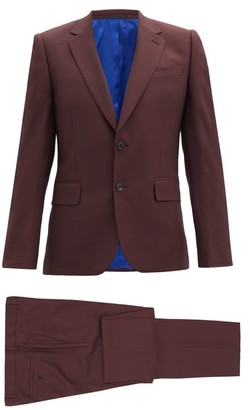 Paul Smith Single-breasted Wool Soho-fit Suit - Burgundy