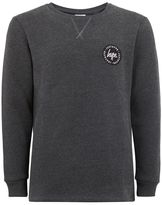 Hype Charcoal Gray Sweatshirt