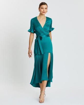 Oasis Split Midi Dress
