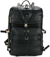 Balmain buckled backpack
