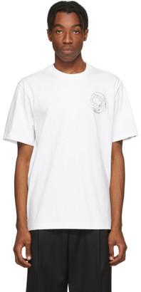 Billionaire Boys Club White Crystal Astro Logo T-Shirt