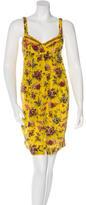 Jean Paul Gaultier Silk Floral Print Dress w/ Tags