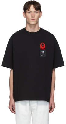 Lanvin Black Patches T-Shirt