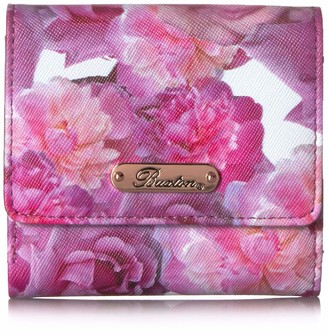 Buxton Brilliant Large Floral Rfid Mini Billfold