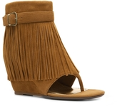 Bamboo Cosette-01 Wedge Bootie